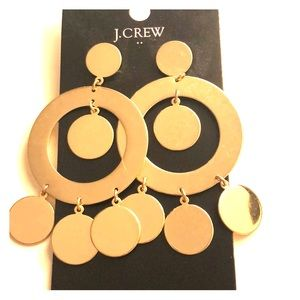 J. Crew Gold Earrings - New